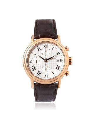 50% OFF Raymond Weil Men's 77737-PC5-00659 Maestro Brown/White Rose-Tone Steel Watch