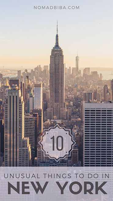 Unusual Things to Do in New York