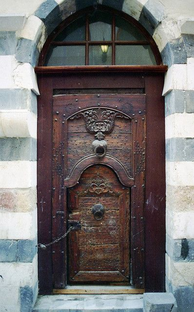 ~Door in door... Damascus, Syria