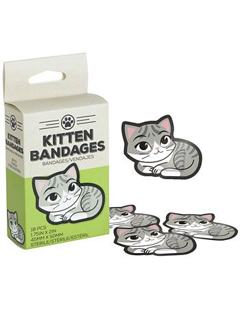 Lick Your Wounds Kitten Boo-Boo Bandages