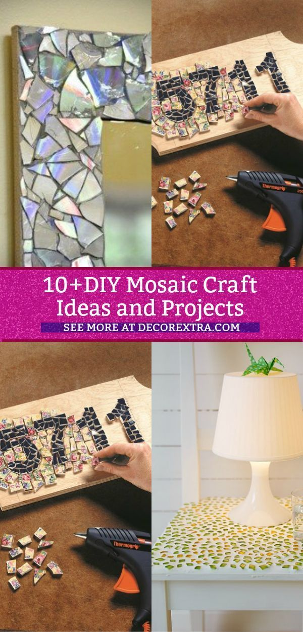 10 Amazing Diy Mosaic Art And Craft Ideas And Projects Do It