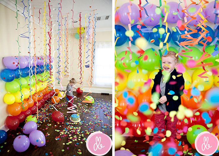 DIY Balloon Photography Backdrop Idea By Drew B From Momtog