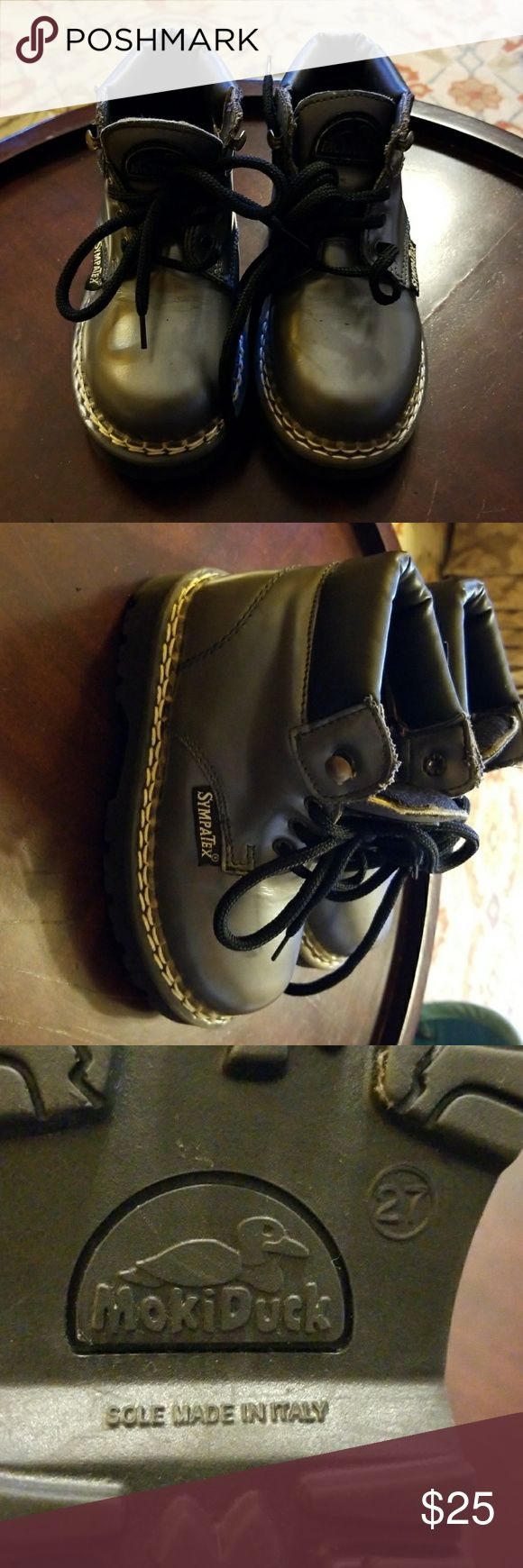 SympaTex Infant boots SympaTex mokiduck Infant boots. Gently used. Size 27.Made in Italy. Sympatex Shoes Boots