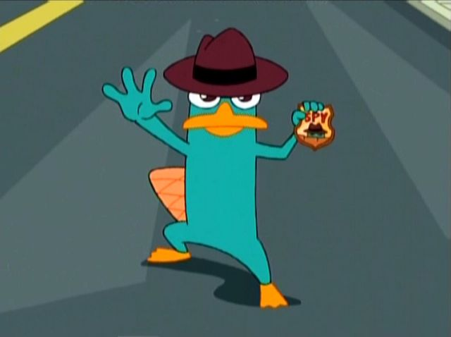 Perry the Platypus - Phineas and Ferb Wiki - Your Guide to Phineas and Ferb