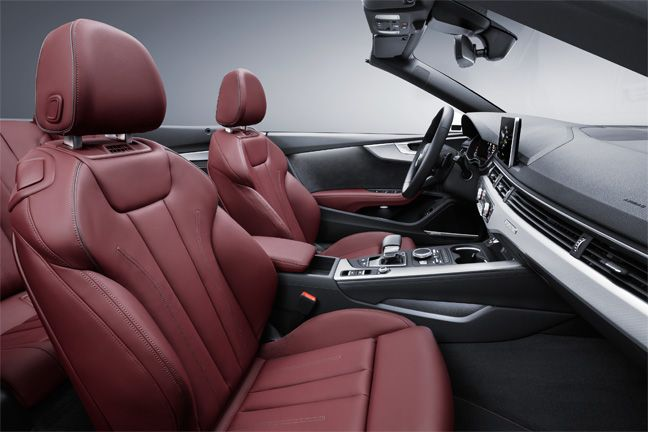 Nouvelles Audi A5 et S5 Cabriolet.