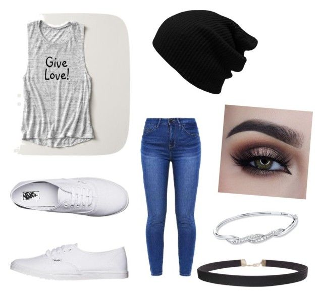 """Bowling Outfit"" by mrsmacintosh on Polyvore featuring Vans and Humble Chic"