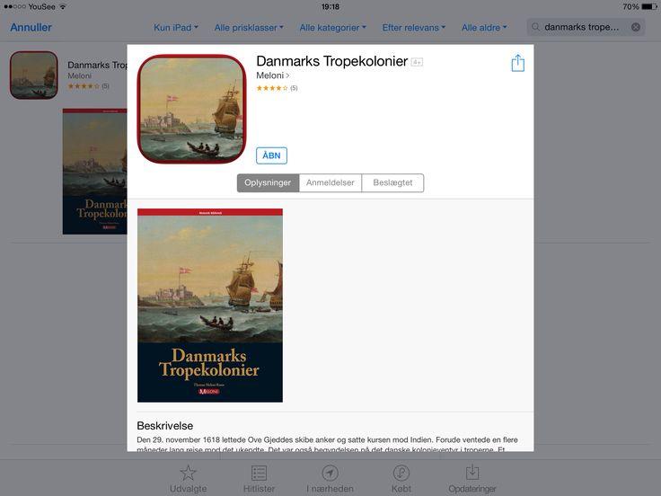 Bog om Danmarks tropekolonier fra Meloni