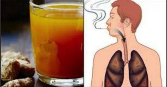 prečistenie pľúc