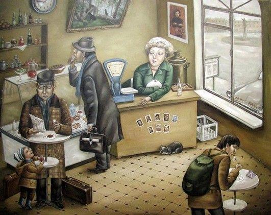 La vida en la URSS, vista por una pintora de Donetsk