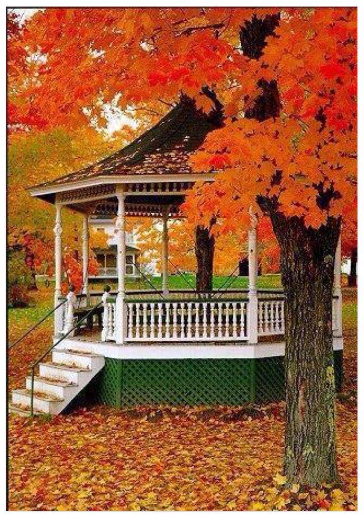 Autumn Gazebo...