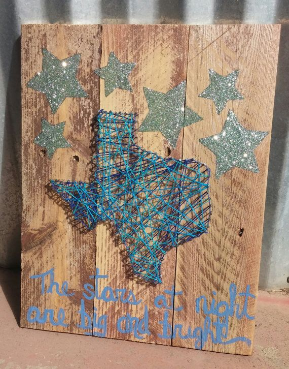 The Stars at Night Are Big and Bright Texas by CoonCreekUnique