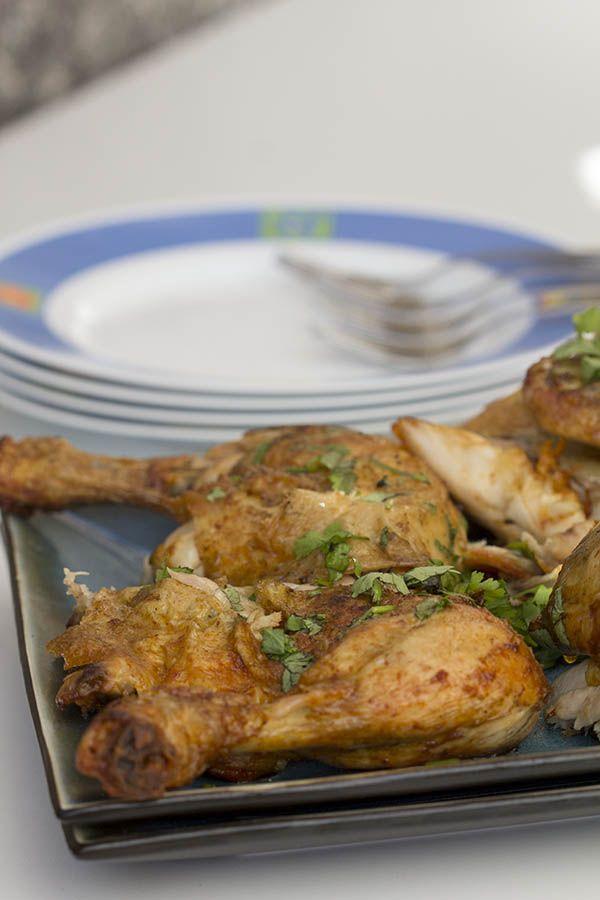 Esta ha sido siempre una de mis recetas favoritas de Portugal... Pollo piri-piri con Thermomix #fb