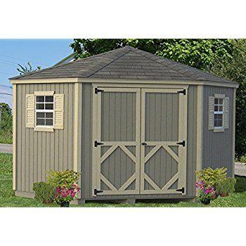 image result for corner garden shed - Corner Garden Sheds 7x7