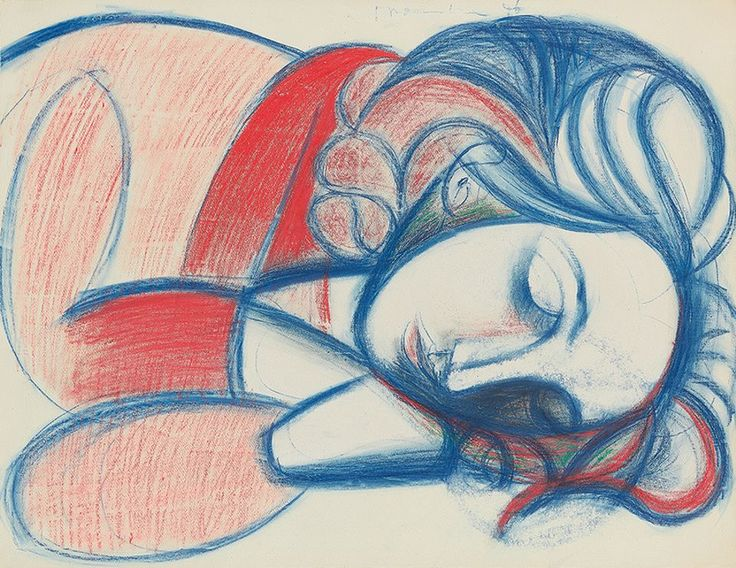Pablo Picasso, Portrait de femme endormie. III (1946), sold for $9.3m with fees