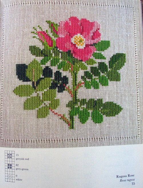 rosecrossstitch, Gerda Bengtsson