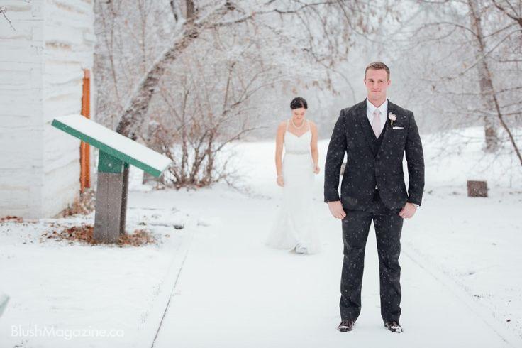 Modern Ukranian Winter Wedding. First Look, Winter Wedding, Winter Wonderland