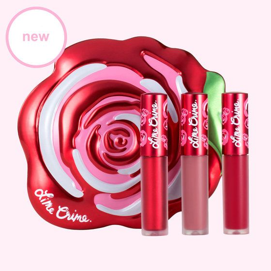 Red Velve-Tin   Red Lipstick Gift Set - Lime Crime