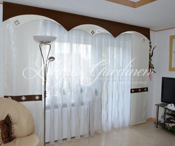 Schone Wohnzimmer Gardinen Nach Mass Wir Gestallten Ihr Fenster Individuell Schabracken Gardinen Schiebegardinen Vorha Gardinen Modern Gardinen Wohnzimmer