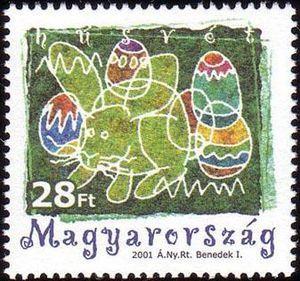 ◇Hungary   Easter 2001