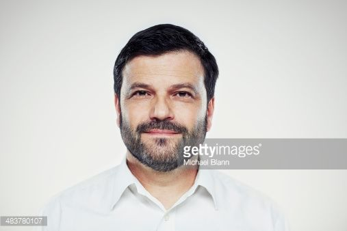 Stock Photo : Head and shoulders portrait