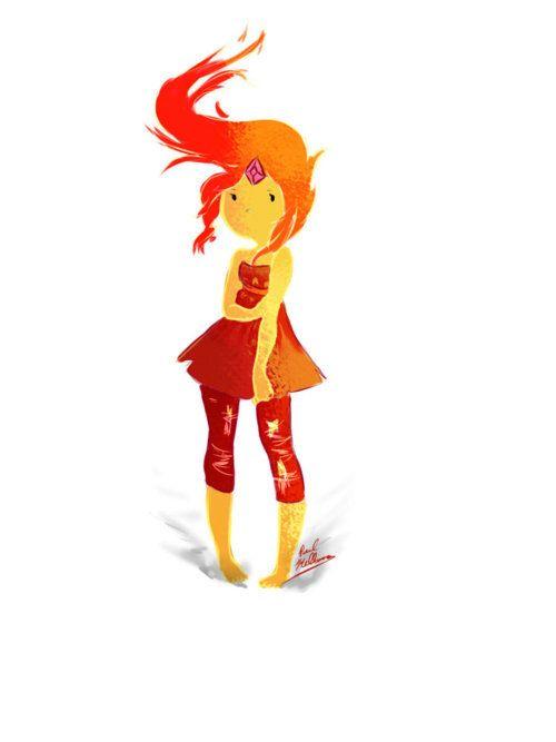 Flame Princess art inspiration