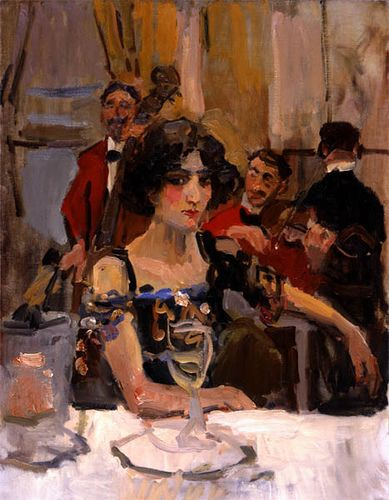 Isaac Israels Perroquet 1911 by deflam, via Flickr