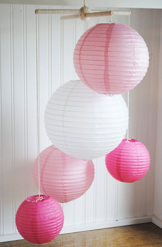 Paper Lantern Mobiles 260 best Fun with