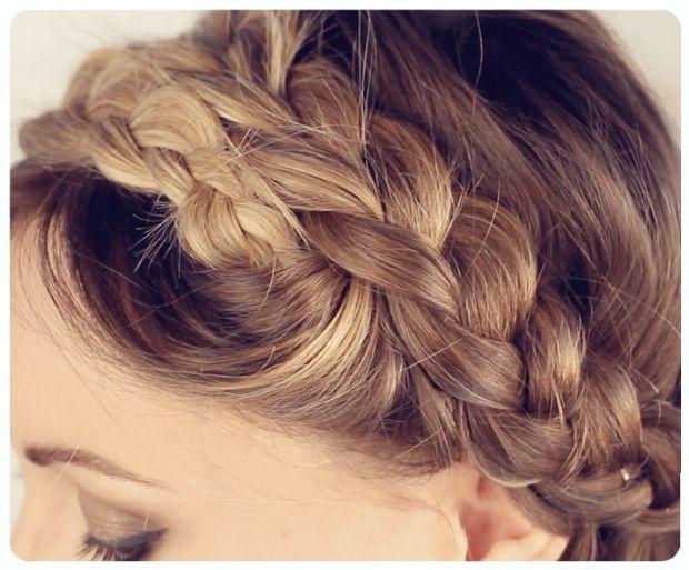 Apprendre à faire une couronne de tresse http://urbangirl-beaute.fr/tuto-couronne-de-tresses/