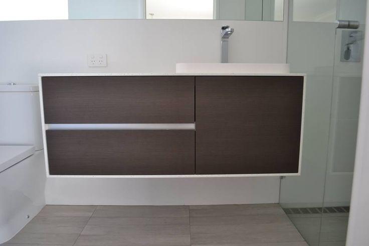 Charolette Brown Strip 1200mm Wall Hung   Bathroom Renovations Dungcraig