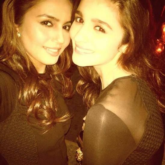 Huma Qureshi and Alia Bhatt