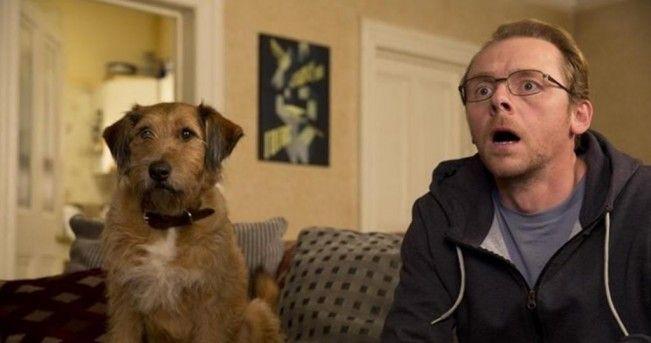 Selon Simon Pegg, Robin Williams n'a peut-être pas fini la voix de son personnage dans Absolutly Anything.