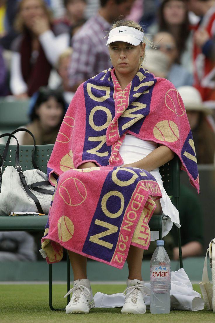 Maria Sharapova at 4th round of 2012 Wimbledon #WTA #Sharapova #Wimbledon