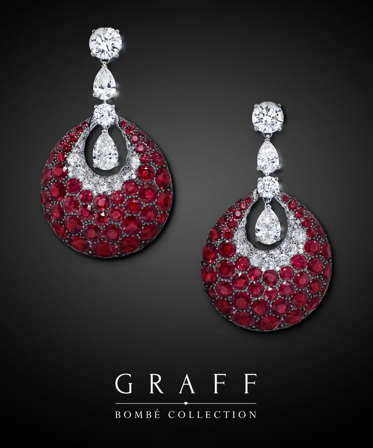 Captivating and contemporary, the Bombé Collection features an array of rubies, sapphires and emeralds with an entrancing depth of colour, beautifully complemented by exceptional white diamonds. Each Bombé jewel incorporates Graff's minimal platinum setting, which allows the beauty and brilliance