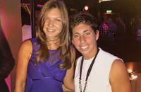 Simona Halep a trecut peste eliminarea de la Roma. S-a fotografiat alături de Carla Suarez Navarro