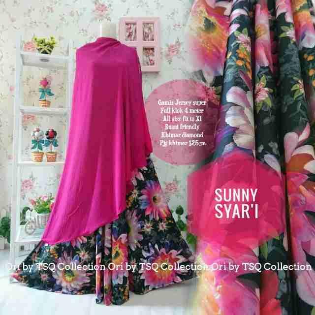 Baju Muslim Cantik B130 Sunny Syar'i Cantik - http://bajumuslimbaru.com/baju-muslim-cantik-b130-sunny-syari
