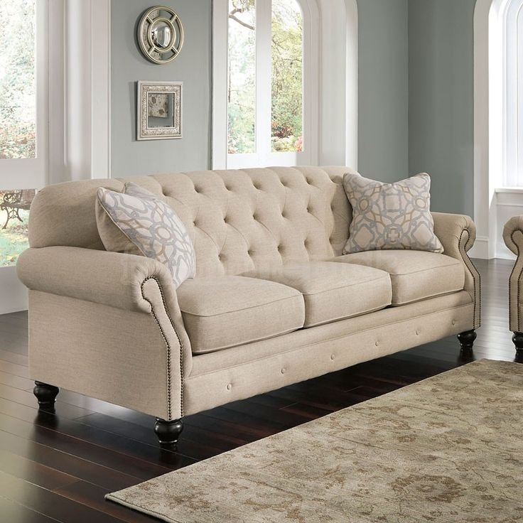 Ashley Furniture Kieran Natural Sofa.  Love this!