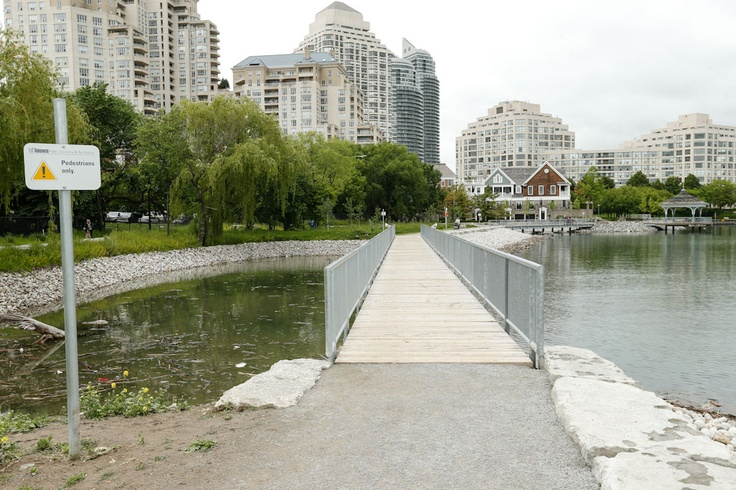 Mimico's New Waterfront Park