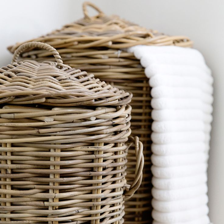 Doing the washing feel like a chore? Not when you have our gorgeous Laundry Baskets to hide it away in!