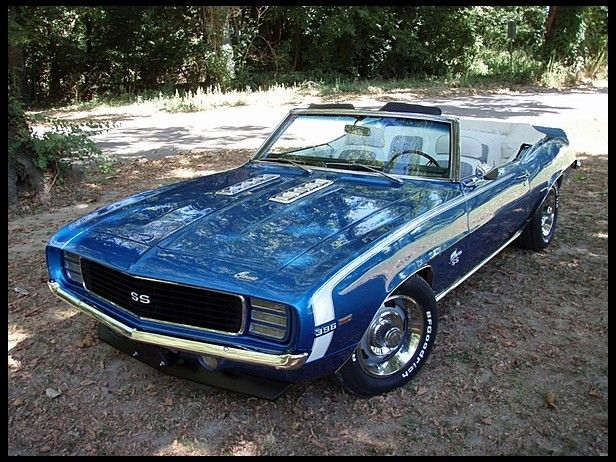 1969 Chevrolet Camaro RS/SS Convertible for sale by Mecum Auction  HB $37k