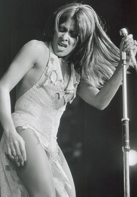 Tina Turner! This woman is beyond fierce and amazing even in her 70s.