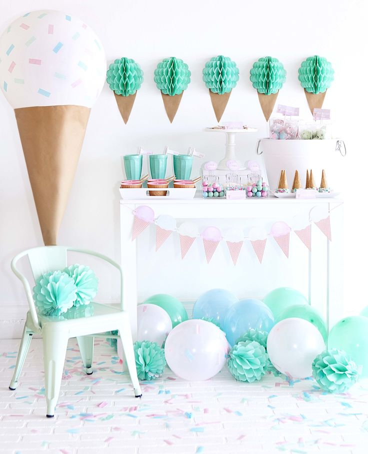 Throw a Sweet Ice Cream Party