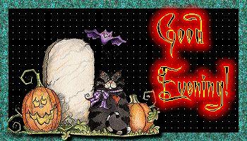 fijne avond halloween
