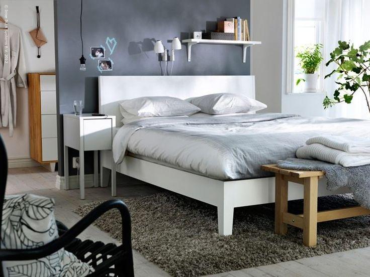 oltre 25 fantastiche idee su letto nordli ikea su pinterest ... - Camera Da Letto Matrimoniale Ikea