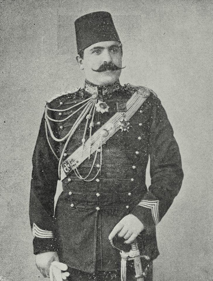 OTTOMAN COLONEL AHMED MUHTAR PASHA Osmanlı Miralayı Ahmed Muhtar Paşa