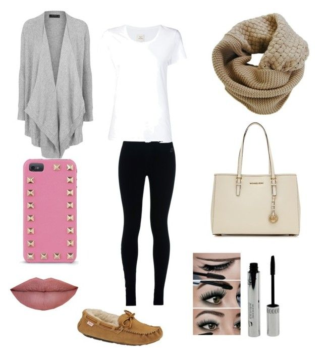 Relaxing  by erika020302 on Polyvore featuring polyvore, fashion, style, Topshop, Max 'n Chester, NIKE, Slippers International, MICHAEL Michael Kors, Humble Chic, Valentino, women's clothing, women's fashion, women, female, woman, misses and juniors