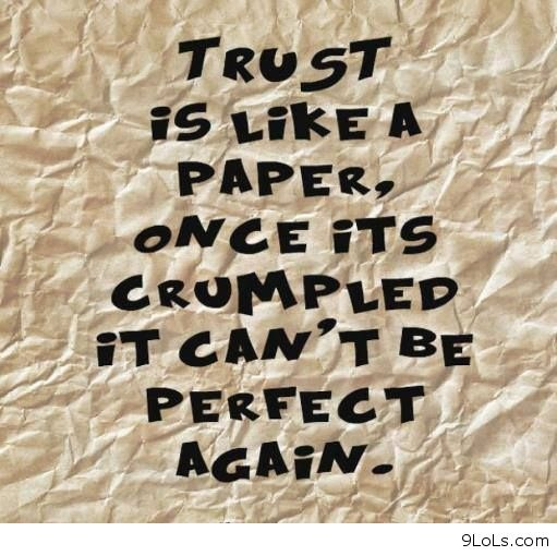 Funny Quotes About Trust. QuotesGram