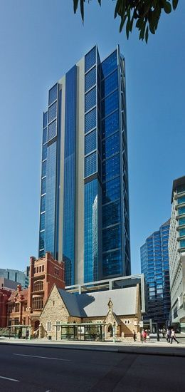 Hassell brookfield place has redefined the perth for 125 st georges terrace perth western australia