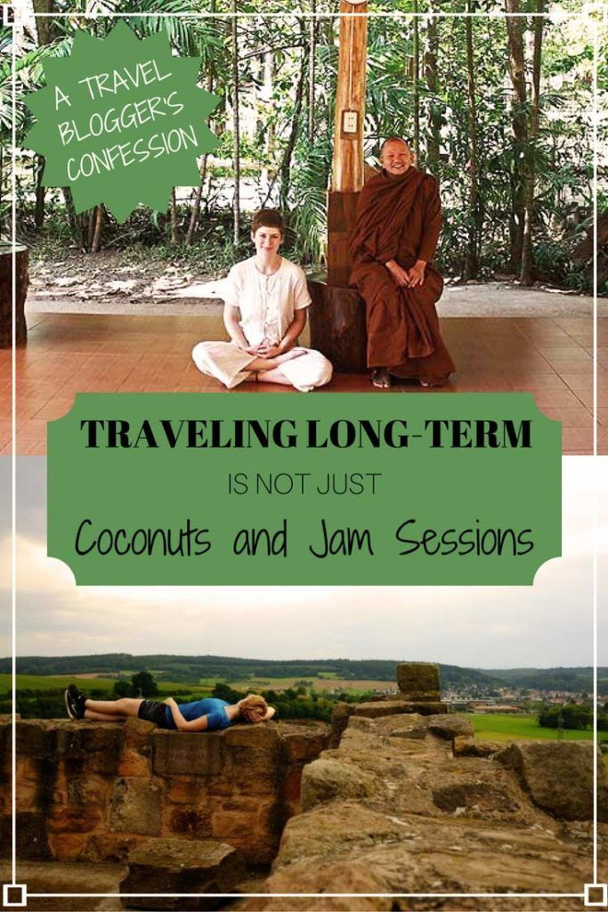 A travelblogger's confession: Grab a virtual cuppa tea & follow this story about the reality of long-term solo traveling. And why we still pursue it.