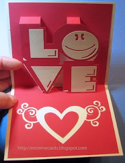 Fun 3 d cards: Papercraft, Pop Up Cards, Silhouette, Greeting Cards, Valentines Cards, Popup Cards, Paper Crafts, Valentines Day Cards, Diy Projects