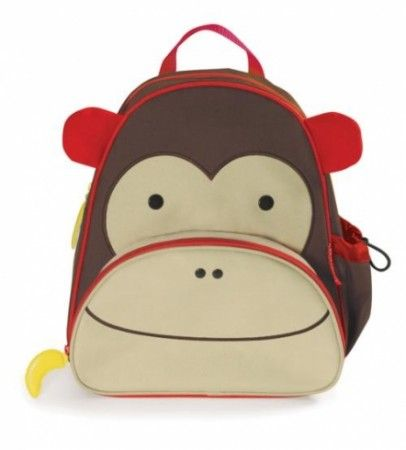 Skip Hop Monkey Kids Backpack